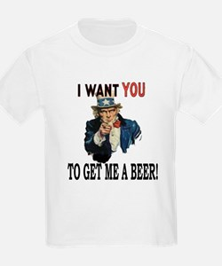 I want you to get me a beer T-Shirt