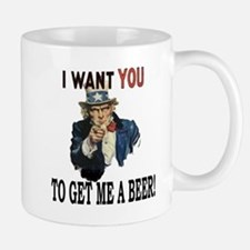 I want you to get me a beer Mug
