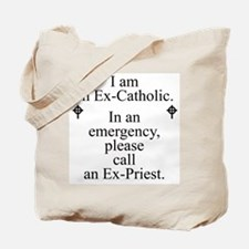 Ex-Catholic Tote Bag