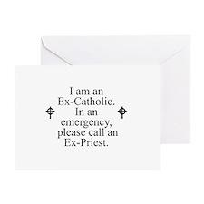 Ex-Catholic Greeting Card