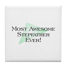 MA Stepfather Tile Coaster