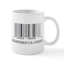 REGISTERED U.S. CITIZEN Mug