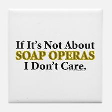 Soap Operas Tile Coaster