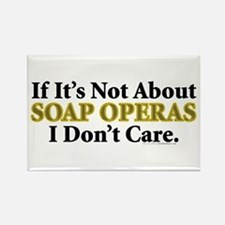 Soap Operas Rectangle Magnet