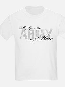 Grandpa is my Hero ARMY T-Shirt