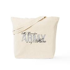 Grandpa is my Hero ARMY Tote Bag