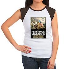 Pershing's Crusaders Women's Cap Sleeve T-Shirt