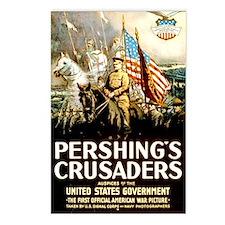 Pershing's Crusaders Postcards (Package of 8)