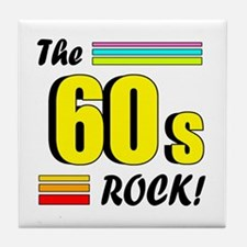 'The 60s Rock!' Tile Coaster