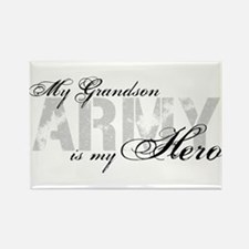 Grandson is my Hero ARMY Rectangle Magnet