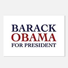Barack Obama for President Postcards (Package of 8