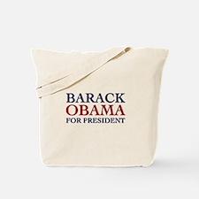 Barack Obama for President Tote Bag