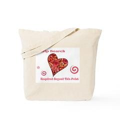Strip Search Tote Bag