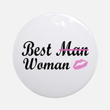 Best Woman Ornament (Round)