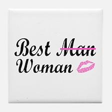 Best Woman Tile Coaster
