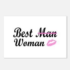 Best Woman Postcards (Package of 8)