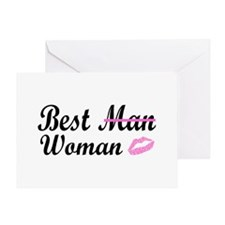 Best Woman Greeting Card