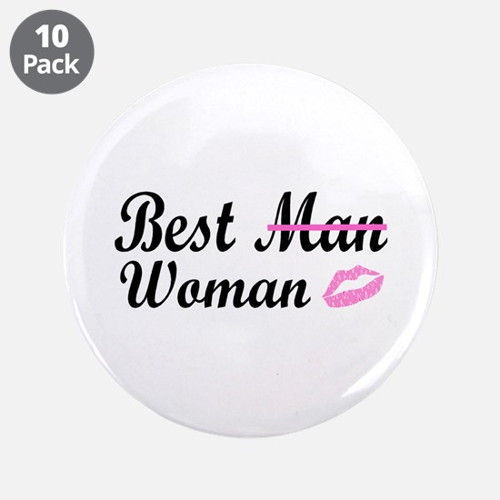 "Best Woman 3.5"" Button (10 pack)"