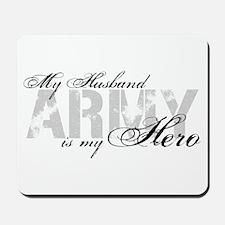 Husband is my Hero ARMY Mousepad