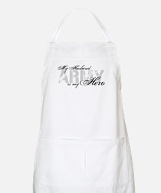 Husband is my Hero ARMY BBQ Apron