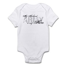 Husband is my Hero ARMY Infant Bodysuit