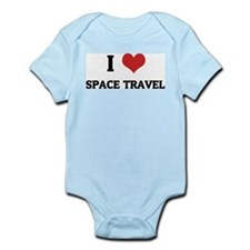 I Love Space Travel Infant Creeper