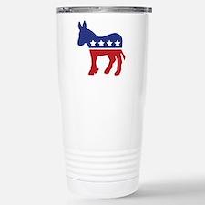 Democrat Donkey Travel Mug