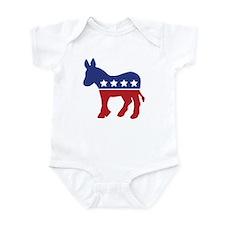 Democrat Donkey Infant Creeper