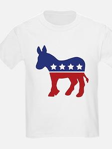 Democrat Donkey Kids T-Shirt