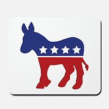 Democrat Donkey Mousepad