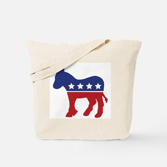 Democrat Donkey Tote Bag