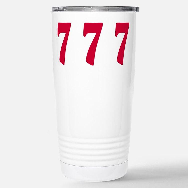 777 Stainless Steel Travel Mug