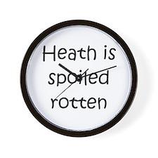 Funny Love heath Wall Clock