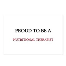 Proud to be a Nutritional Therapist Postcards (Pac