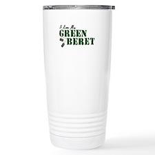 I Love My Green Beret Travel Mug
