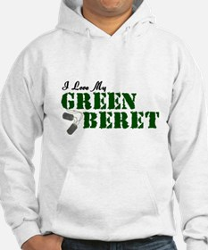 I Love My Green Beret Jumper Hoody