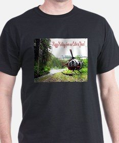Holiday Helicopter Cabin T-Shirt