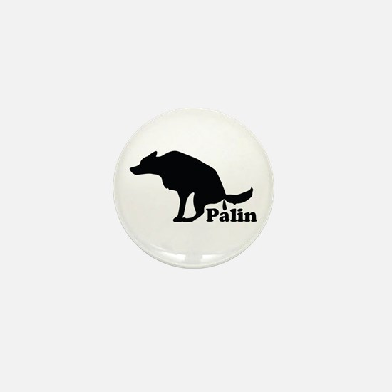 Poop on Palin Mini Button