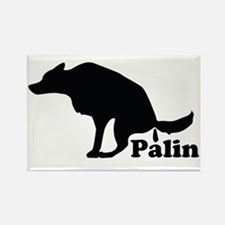 Poop on Palin Rectangle Magnet