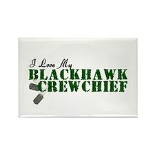 Love My Blackhawk Rectangle Magnet