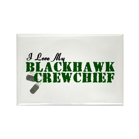 Love My Blackhawk Rectangle Magnet