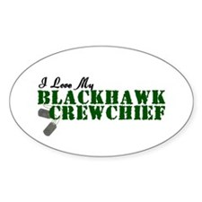 Love My Blackhawk Oval Decal
