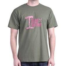 I Wear Pink For My Sister 21 T-Shirt
