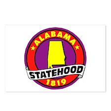 """Alabama Statehood"" Postcards (Package of 8)"