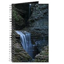 Waterfall At Watkins Glen Journal