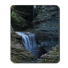 Waterfall At Watkins Glen Mousepad