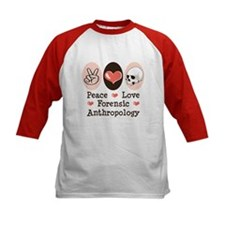 Peace Love Forensic Anthropology Tee