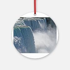 Summertime Niagara Falls Ornament (Round)