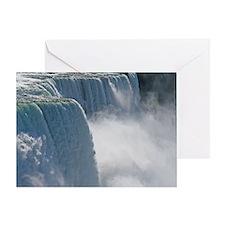 Summertime Niagara Falls Greeting Card