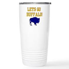 Buffalo Hockey Travel Mug